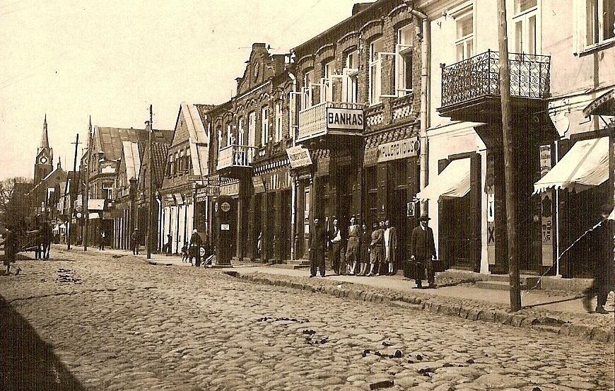 Kauno gatvė tarpukariu