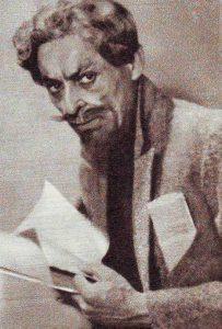 K.Glinskis sukūrė daug charakterinių vaidmenų