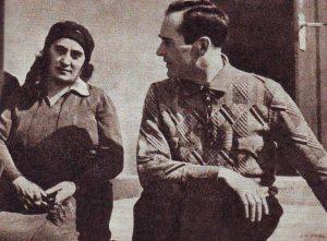 K.Glinskis su žmona