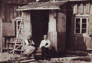 K.Glinskio gimtieji namai Jurbarke 1918 m.