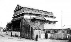 Jurbarko medinė barokinė sinagoga, 1936 m.