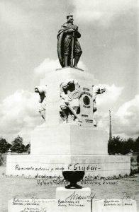 Paminklas Vytautui Didžiajam Kaune, 1931 m.