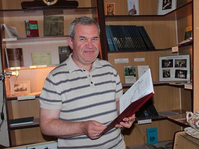 """Laiko nutolintą Viešvilės gyvenimą Algimantas Liaudaitis saugo """"Tėviškės namų"""" muziejuje."""