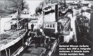 Garlaiviai Mituvoje