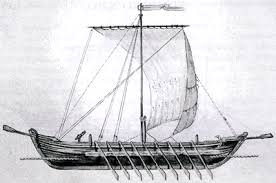 Zaporožės kazokų laivas - čaika