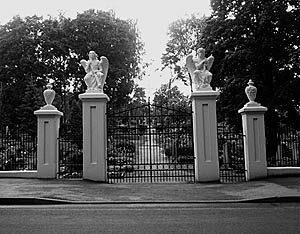 P. Mikutaitis. Jurbarko kapinių vartai, 1935 m.