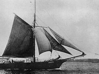 """""""Jūratė"""". Tai vienas pirmųjų laivų, į jūrą išplaukusių su lietuviška trispalve"""